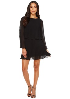 Laundry by Shelli Segal Knife Pleat Chiffon Cocktail Dress