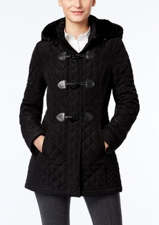 Laundry by Design Hooded Toggle Coat