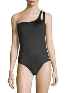 Laundry by Shelli Segal One-Piece One-Shoulder Swimsuit