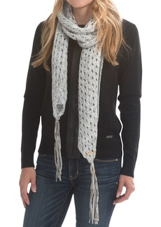 Laundry by Design Open-Stitch Scarf - Lambskin Fringe (For Women)