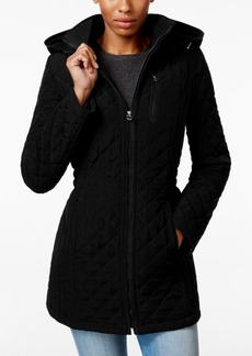 Laundry by Design Petite Hooded Quilted Jacket