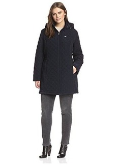 Laundry by Design Plus Women's Quilted Jacket with Hood