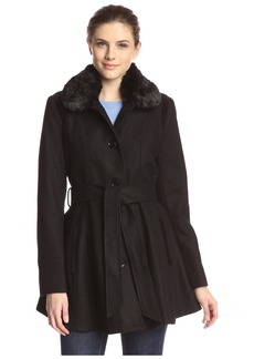 Laundry by Shelli Segal Laundry by Design Women's Fit & Flare Coat  L