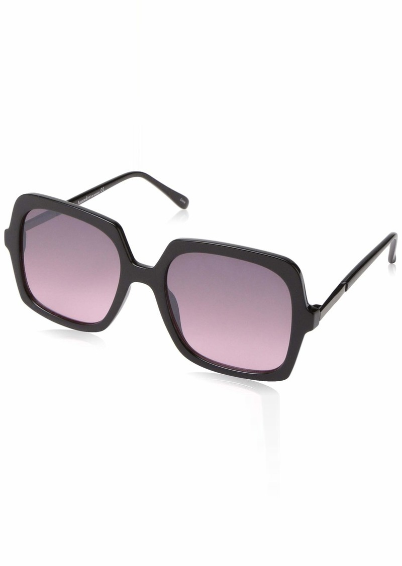 Laundry by Shelli Segal Laundry by Design Women's Ld266 Ox Non-Polarized Iridium Rectangular Sunglasses