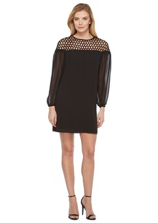 Laundry by Shelli Segal 3/4 Sleeve Cocktail Dress