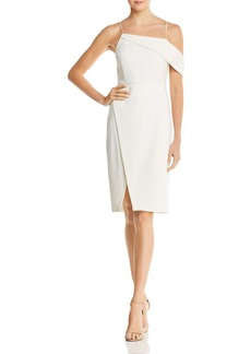 Laundry by Shelli Segal Asymmetric Cocktail Dress