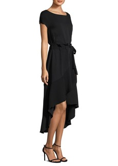 Laundry by Shelli Segal Asymmetric Midi Dress