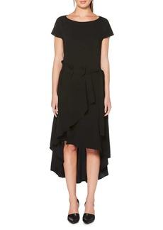 Laundry by Shelli Segal Asymmetric Midi Dress