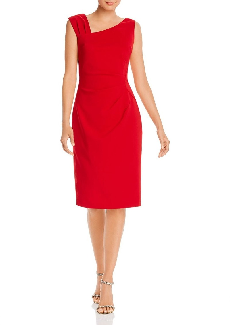 Laundry by Shelli Segal Asymmetric Sheath Dress