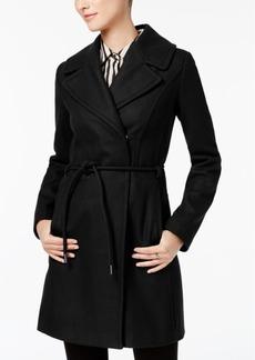 Laundry by Shelli Segal Asymmetrical Walker Coat