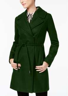 Laundry by Shelli Segal Asymmetrical Walker Coat