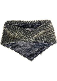 Laundry by Shelli Segal Baby Diamond Faux Fur Bandana