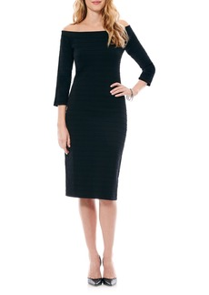 Laundry by Shelli Segal Bandage Knit Sheath Dress