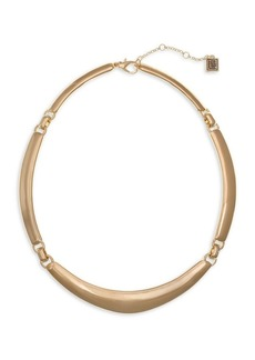 Laundry by Shelli Segal Basics Goldtone Collar Necklace