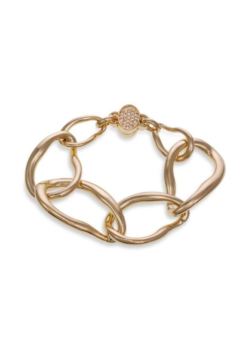 Laundry by Shelli Segal Basics Goldtone Large Link Bracelet