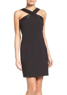 Laundry by Shelli Segal Beaded Sheath Dress