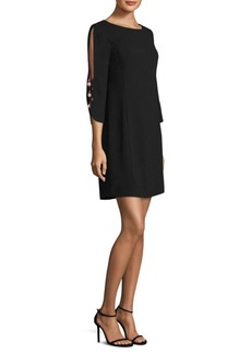 Laundry by Shelli Segal Beaded Shift Dress
