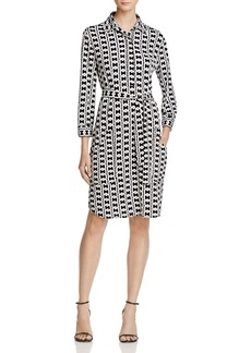 Laundry by Shelli Segal Belted Shirt Dress