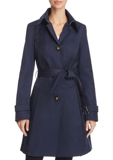 Laundry by Shelli Segal Belted Trench Coat