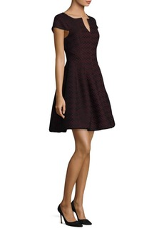 Laundry by Shelli Segal Bonded Lace Fit-&-Flare Dress