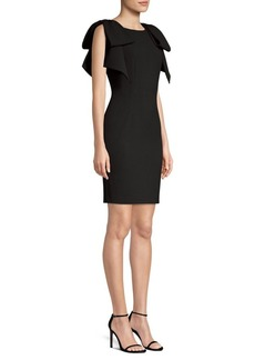Laundry by Shelli Segal Bow Shoulder Sheath Dress