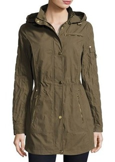 Laundry By Shelli Segal Brushed Cotton Anorak Jacket