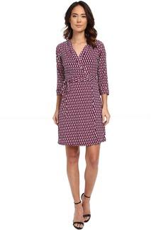 Laundry by Shelli Segal Chain Glam' Matte Jersey Wrap Dress