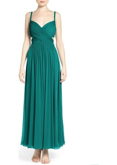Laundry by Shelli Segal Chiffon Gown