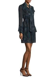 Laundry by Shelli Segal Clip Dot Shift Dress
