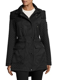 Laundry By Shelli Segal Cloud Quilted Anorak Jacket
