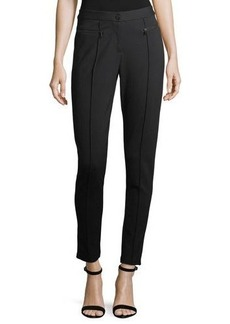 Laundry By Shelli Segal Compressed Knit Skinny Ankle Pants