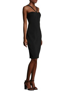 Laundry by Shelli Segal Crepe Midi Dress