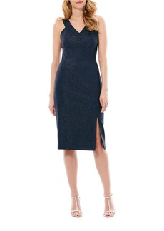LAUNDRY BY SHELLI SEGAL Crisscross Front Dress