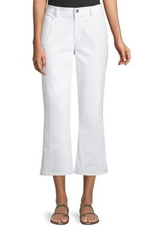Laundry By Shelli Segal Cropped Flare Pants