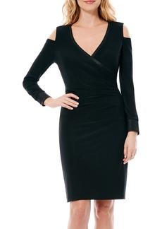 Laundry by Shelli Segal Curve Control Jersey Sheath Dress