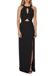 Laundry by Shelli Segal Cutout Column Gown