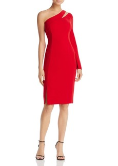Laundry by Shelli Segal Cutout One-Shoulder Dress - 100% Exclusive