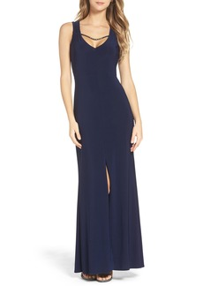 Laundry by Shelli Segal Embellished Gown