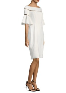 Laundry by Shelli Segal Embellished Knee-Length Dress