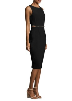 Laundry by Shelli Segal Embellished Sheath Dress