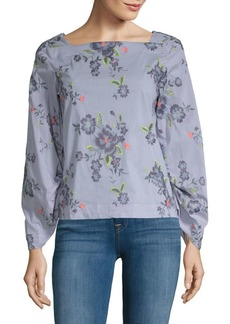 Laundry by Shelli Segal Embroidered Top