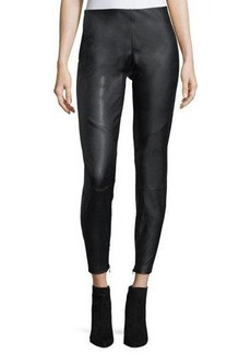 Laundry By Shelli Segal Faux-Leather Moto Pants