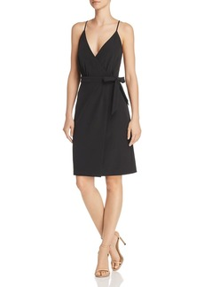 Laundry by Shelli Segal Faux-Wrap Dress
