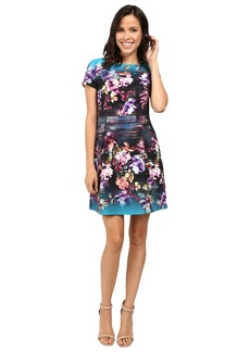 Laundry by Shelli Segal Fit & Flare Printed Dress