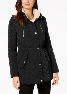 Laundry by Shelli Segal Fleece-Lined Hooded Anorak