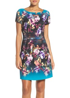 Laundry by Shelli Segal Floral Fit & Flare Dress