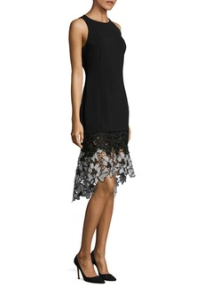 Laundry by Shelli Segal Floral Lace Hem Dress