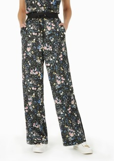 Laundry by Shelli Segal Floral-Print Drawstring Pants