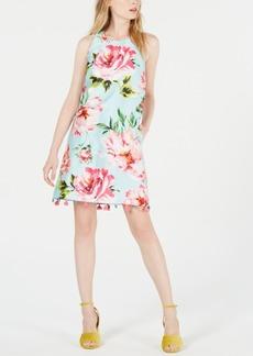 Laundry by Shelli Segal Floral T-Back Sheath Dress