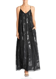 Laundry by Shelli Segal Floral Trapeze Gown